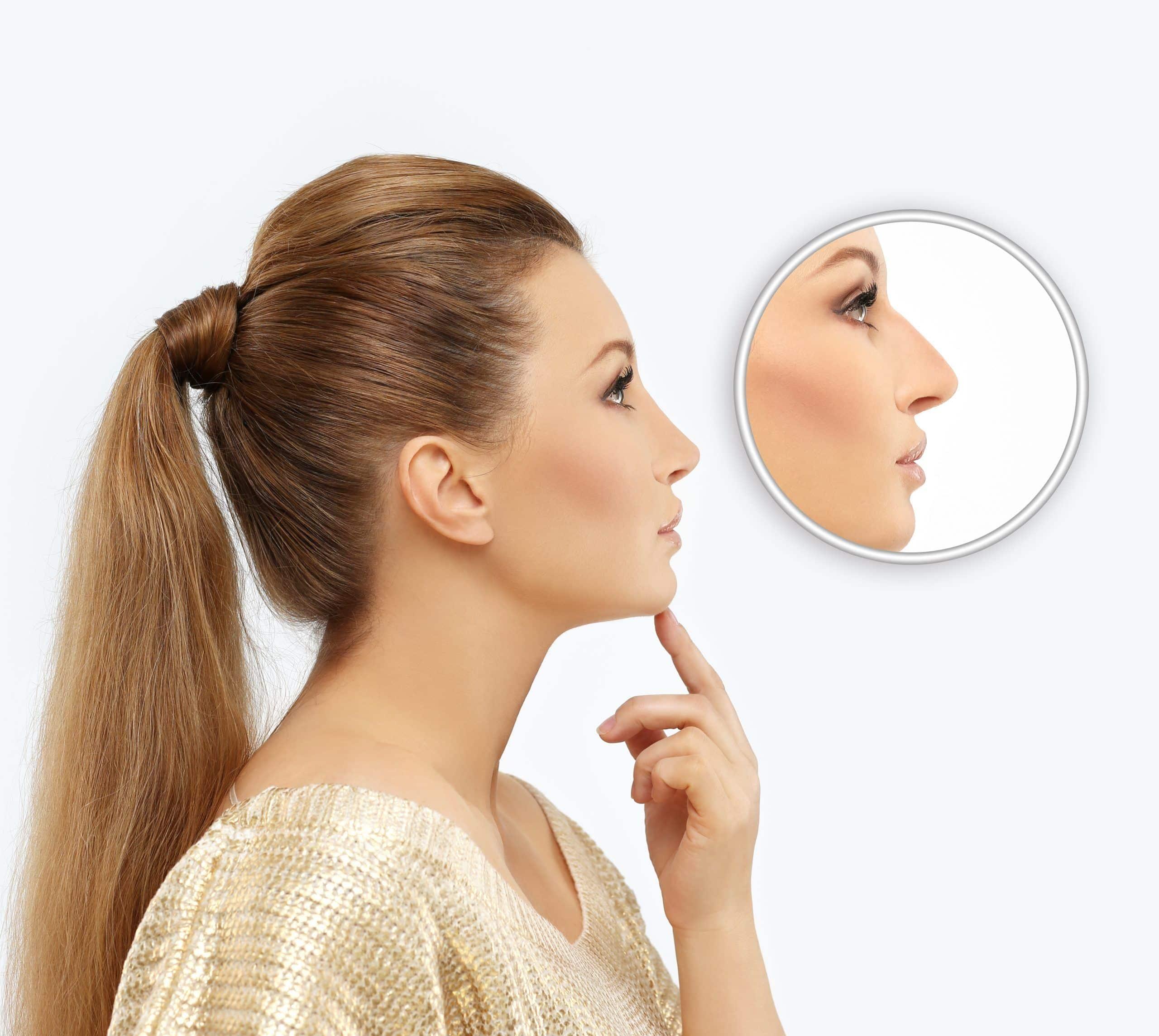 Como mejorar su equilibrio facial con una cirugia de nariz